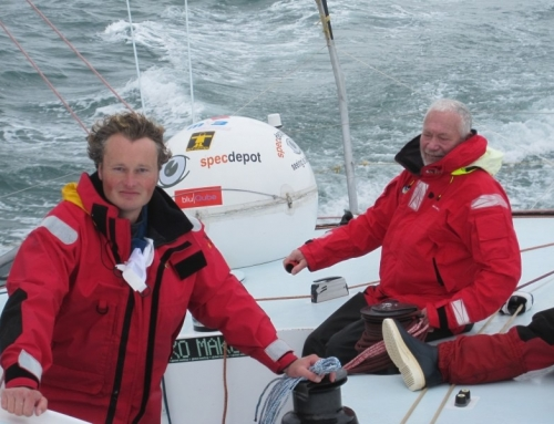 STEVE TO SAIL WITH SIR ROBIN KNOX JOHNSTON
